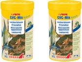 Sera GVG nature mix 100ml lekkernijen zonder bewaarmiddelen per 2 potjes krill daphnia rode muggenlarven