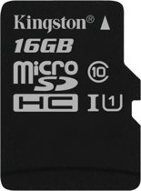 16GB microSDHC Canvas Select - Class 10 Single Pack w/o Adapter