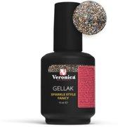 Veronica NAIL-PRODUCTS Gel lak SPARKLE STYLE FANCY, Gel nagellak, perfect nagels lakken met gel en nagellak in één!