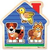 Melissa & Doug - House Pets Large Legpuzzel