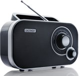 Denver TR-54 - Draagbare FM radio - Zwart