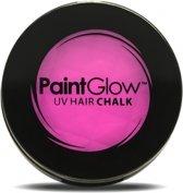 UV haarkrijt roze