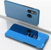 Samsung Galaxy A50 Hoesje - Mirror View Case - Blauw