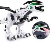 Dino Speelgoed Vuurspuwende Dinosaurus Draak - Elektrisch bewegende Dinosaur Robot met Geluid en Lichtjes - 40 cm