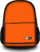 Sleevy rugzak oranje - schooltas