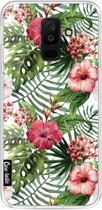 Casetastic Softcover Samsung Galaxy A6 Plus (2018) - Tropical Flowers