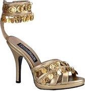 Sexy pumps met gouden munten 40