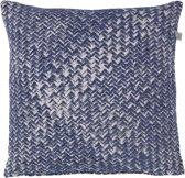 Dutch Decor Sierkussen Frenk 45x45 cm donkerblauw