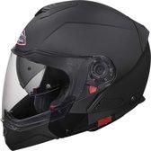 SMK Modulaire Helm Hybrid Matt Black-XS