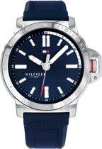 Tommy Hilfiger TH1791588 Horloge - Siliconen - Blauw - Ø 44 mm