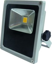 PROFILE LED straler flat - 10W - IP44 - grijs