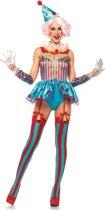 Delightful Circus Clown kostuum - M - Multicolours - Leg Avenue
