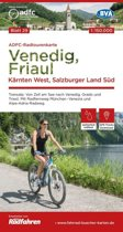 ADFC-Radtourenkarte 29 Venedig, Friaul - Kärnten West, Salzburger Land Süd, 150.000 (1.A 2018)