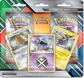 Pokemon 2 Booster Pack Blister (+ 3 Foils)