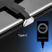 Micro USB Wireless Charging Receiver - Type C – Draadloos Oplaad Ontvanger – Plug in/uit – Wireless Qi receiver – Geschikt voor alle apparaten met Micro USB C ingang