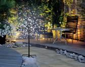 LED-boom Kers bloesems 120 cm Koud-wit Bruin Polarlite PCA-03-005 PCA-03-005