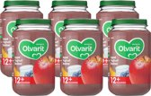 Olvarit 12m54 appel yoghurt bosbes 6x200g