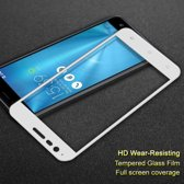 Full High Anti-explosion 9H Tempered Glass Screenprotector Asus Zenfone 3 Zoom (ZE553KL) - Wit