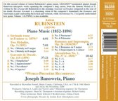 Rubinstein: Piano Music