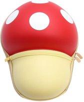 Kinderrugzak paddenstoel (rood)