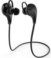 Bluetooth In-ear Draazloze Koptelefoon (Zwart) / Headset / Oordopjes / Oortjes / Hoofdtelefoon / Oortelefoon / Headphones - Ideaal voor het Hardlopen, bereik tot 10 meter!