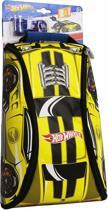 Neat-oh! Hot Wheels Crash Racer Zipbin Backpack gele rugzak met auto