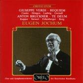 Messa Da Requiem/Brucknerte Deum C-Dur