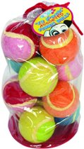Petbrands Tennisbal Assorti - 12 Pack Ø 6cm
