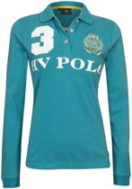 HV Polo Favouritas Eques LS - Polo Shirt - Lago Blue - M