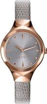 Esprit - ES109492002 - Horloge - leer - 28 - mm grijs