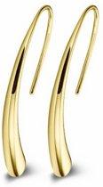 Casa Jewelry Oorhangers Bender M - Goud Verguld