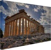 FotoCadeau.nl - Parthenon van Athene Canvas 60x40 cm - Foto print op Canvas schilderij (Wanddecoratie)