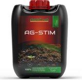 AG-STIM Biologische plantenvoeding bio-stimulant voor beter bodemleven en plantenversterker - 100% organische meststof - vloeibare mest - vloeibare meststof- Kamerplant voeding - Ook geschikt voor tuin en kamerplanten