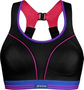 ShockAbsorber Ultimate Run Bra - Sportbeha - Zwart / Neon - 75C
