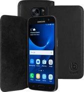 Bugatti Booklet Case Oslo voor Samsung Galaxy S7 - Zwart