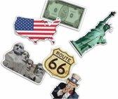 Confetti Amerika thema 300 gram