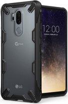 Ringke Fusion X LG G7 ThinQ Hoesje Doorzichtig Black