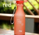 2x BPA vrije sport waterfles   rood