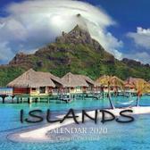 Islands Calendar 2020: 16 Month Calendar