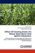 Effect of Sowing Dates on Maize Stem Borer and Aphid Infestation