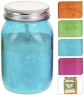 Citronellakaars in glazen pot assorti levering