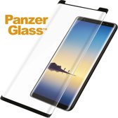 Case Friendly Glass Screenprotector voor Samsung Galaxy Note 9 - Zwart