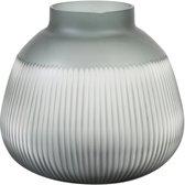 Light & Living Vaas Ø27,5x26 cm DARIO glas grijs