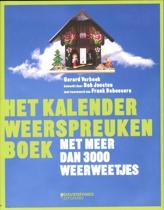 Het kalender weerspreukenboek