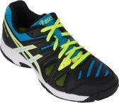 Asics Gel-Game 5 (GS)  Tennisschoenen - Maat 32.5 - Unisex - zwart/blauw/wit/geel