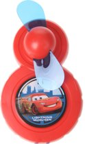 Disney Cars Mini Ventilator Rood 9 X 6 Cm