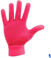 Sporthandschoenen - Hockey Voetbal Tennis Hardlopen - Winter handschoenen - Grip - Anti Slip - Junior - XS / S - Meisjes - Roze