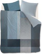 Kardol Privileged - Dekbedovertrek - Eenpersoons - 140x200/220 cm - Blauw Grijs
