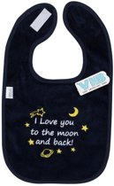 Slabber 'I Love you to the moon and back!' Navy