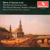 Music of Antonio Lotti Somerville Harvard